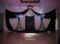 Paris party decor