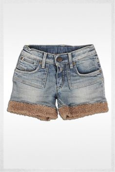 Denim shorts denim | Jeans | Girl | FW12 | Replay & Sons | REPLAY Online Shop