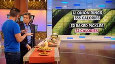 Jorge Cruise on the Benefits of Carb-Swapping: Jorge Cruise explains why carb-swapping on recipes like baked pickles, portobello pizza and zucchini chips allow you to eat a higher volume of food.