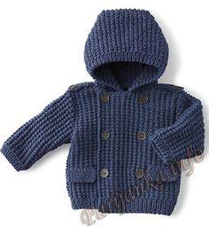 Пальто (д) 29*93 Phildar №4145