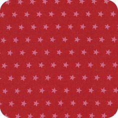 Batiste Froufrou étoile rubis éclatant