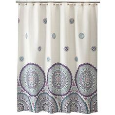 "Target Ethnic+Circles+Shower+Curtain+-+70x71"" $24.99"
