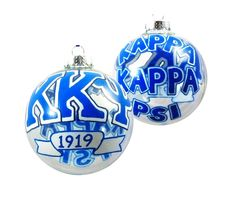 Items similar to Handpainted Kappa Kappa Psi Fraternity Ornament on Etsy Diy Christmas Gifts, Holiday Ornaments, Christmas Bulbs, Kappa Kappa Psi, Clear Glass Ornaments, Sorority Names, Fraternity, Great Bands, Great Gifts