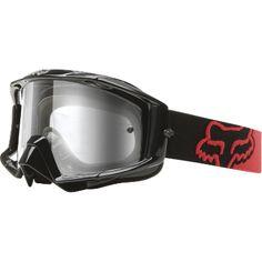 Fox - Main Pro Black Red Goggle Womens Motocross Gear, Off Road Dirt Bikes 5cf8d7308220