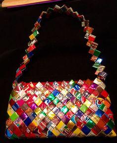 Fun & Funky Mexican Foil Candy Wrapper Shoulder Handbag New #Unbranded #ShoulderBag