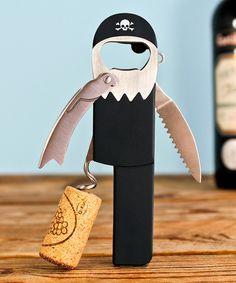 Pirate corkscrew! Arrrrrrrre you ready to drink wine?
