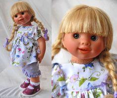 POUPEE ORIGINAL MÜLLER-WICHTEL HEDWIGE - poupée de collection de Rosemarie Müller