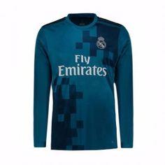 real madrid cf 2017 18 season ls rm third shirt