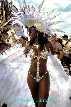 Sexy women in carnival