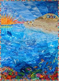 Sampaguita Quilts: Wind, Earth, Fire & Water