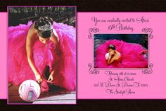 Quinceañera Invitation Personalized with your by kreativekreations