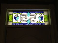 DIY stained glass design