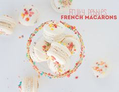 Fruity Pebbles French Macarons & Review | Cookie Dough & Oven Mitt