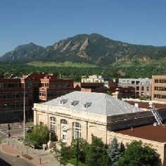 Downtown Boulder, Colorado  - spent 3 amazing summers in Boulder