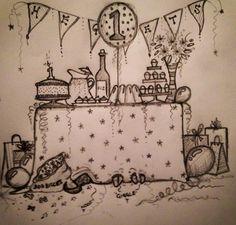The Heglets' birthday x