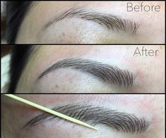 Before & After Gallery - Eyebrow Studio