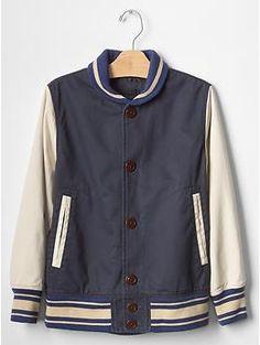 Shawl varsity jacket | Gap