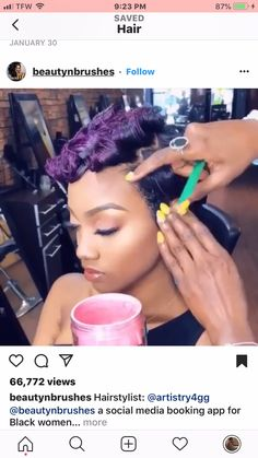Good Products For Natural Curly Hair Cute Hairstyles For Short Hair, My Hairstyle, Pixie Hairstyles, Curly Hair Styles, Natural Hair Styles, Curly Pixie Hair, Teenage Hairstyles, Shaved Hairstyles, Undercut Hairstyles