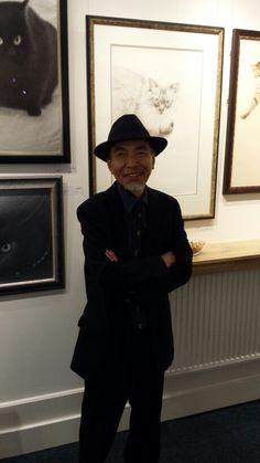 Opening bij Staphorsius met Yukio en Etsuko Takahashi. 10 oktober2015
