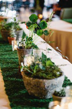 Photography: I Love You Too Weddings   www.iloveyoutooweddings.com Floral Design: All Seasons   allseasonsweddings.com Wedding Venue: ONE, Cannery Row   thecanneryballroom.com/special-events/   View more: http://stylemepretty.com/vault/gallery/32853