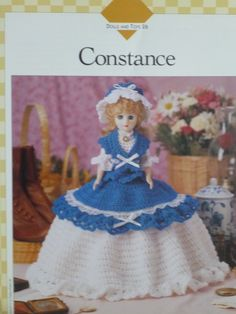 Doll Constance pattern  Vanna's  784 by CarolsCreations77 on Etsy, $2.50