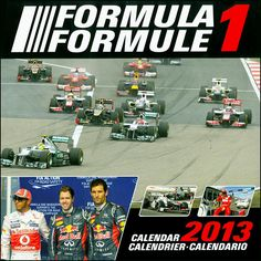Formula 1 Wall Calendar: Can't be there on race day? This full color calendar brings the thrill of Formula 1 racing to mind in 18 stunning photographs. Cars, drivers and some unbelievable shots are all part of this exciting 2013 calendar.  $13.99  http://calendars.com/Racing-Sports/Formula-1-2013-Wall-Calendar/prod201300002647/?categoryId=cat00413=cat00413#