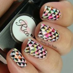Shelby Lou Nails: HPB Presents: Neon Illusion