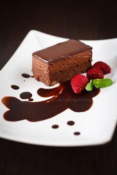 Chocolate Truffle Mousse Cake