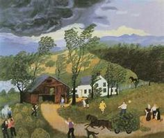 Grandma Moses, The Thunderstorm