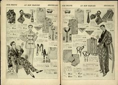 Au Bon Marche 1921 Catalogue