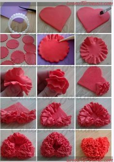 Heart cake topper tutorial