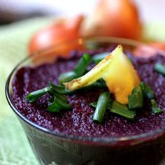 Purple Carrot and Ginger Soup