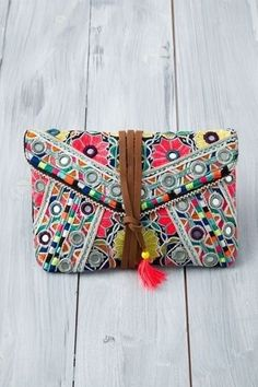 #tribal clutch <3 #bohochic