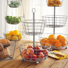 Brushed Aluminum Two-Tiered Stand | Sur La Table