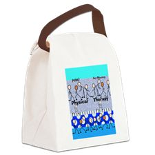 Physical Therapy Canvas Lunch Bag Physical Therapist, Physics, Therapy, Lunch, Backpacks, Signs, Canvas, Bag, Tela