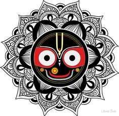 We compiled together some of the most popular Lord Jagannath Images from the web. Hare Krishna, Krishna Art, Mandala Art Lesson, Mandala Artwork, Doodle Art Drawing, Mandala Drawing, Indian Art Paintings, Abstract Paintings, Oil Paintings