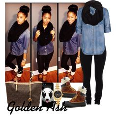 Panda's Winter, created by fashionsetstyler on Polyvore