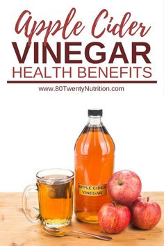Does apple cider vinegar help with weight loss, cholesterol, and diabetes? Get the facts on apple cider vinegar health benefits from registered dietitian Christy Brissette of Apple Cider Health Benefits, Apple Cider Vinegar Health, Apple Cider Vinegar Remedies, Coconut Oil Cholesterol, Cholesterol Lowering Foods, Cholesterol Levels, Cholesterol Symptoms, Healthy Snacks For Diabetics, Good Healthy Recipes