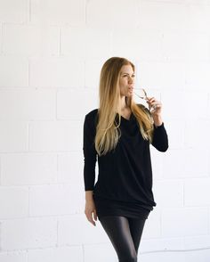Feels like Valentines Day has crept up on us once again. We have no shame in recycling this elegant LBD look from the holidays. Throw on the Revolve Dress a pair of liquid leggings and long dangly earrings for tomorrows dinner plans.