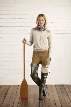 Aigle clothing Hunter Wellies,  rubber boots thigh waders