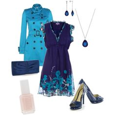 Blues, created by shemshay on Polyvore