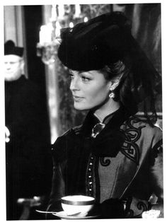 Romy Schneider in Ludwig directed by Luchino Visconti, 1972. Photo by Mario Tursi