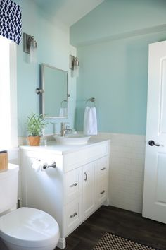 rustic bathrooms pictures paint color quot benjamin 2123 50 air quot paint 14309