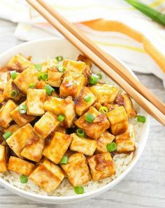 What exactly should a soy-protein fan do with the unassuming white block? We've rounded up all kinds of tasty answers. #greatist https://greatist.com/health/healthy-tofu-recipes