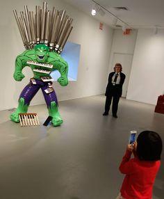 Jeff Koons Artist Retrospective Exhibition Celebration Series Hulk Elvis Organ Keyboard Sculpture Whitney Museum Of American Art New York