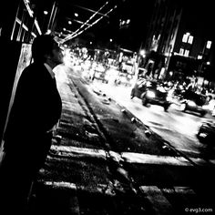 At the end of the workday, a man enjoys smoking a cigarette while waiting for the bus. (Thursday btw).  I'm experimenting with tone curves, kind of Agfa Scala old film. This is great for me because I'm playing with H&S at the point that looks like a high contrast image but without too much burning. The spirit of Moriyama is calling… but not so much, the content is different.  Photography by Abelardo Ojeda.  #StreetPhotography #Mexico #Photography #Fotografia #X100s #Fuji #BlackandWhite