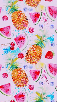 Pineapple wallpaper iphone backgrounds pattern ideas for 2019 Flor Iphone Wallpaper, Summer Wallpaper, Aesthetic Iphone Wallpaper, Screen Wallpaper, Aesthetic Wallpapers, Iphone Backgrounds Tumblr, Cute Wallpaper Backgrounds, Ios Wallpapers, Pretty Wallpapers