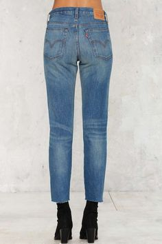 Levi's Wedgie Icon Button-Fly Jeans - Denim   Denim Throwbacks   Best Sellers…