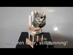 Thermoelectric Fan Powered by a Candle - YouTube