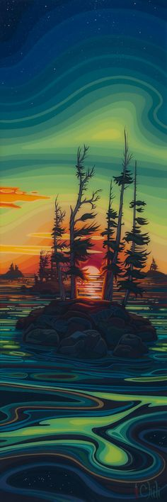 As Above, So Below ~ Chili Thom, Canadian Artist